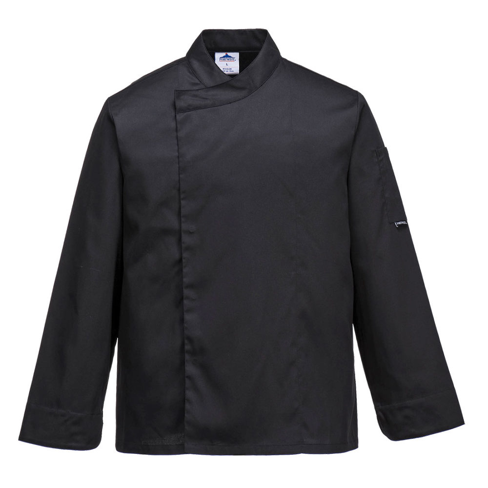 C730 – Chaqueta de cocina Cross-Over