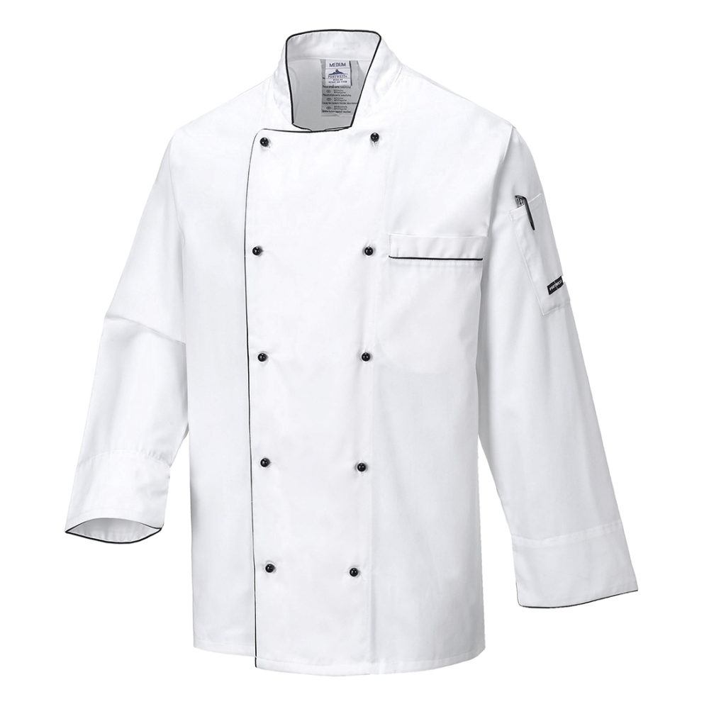 C776 – Chaqueta de chef Executive  Blanco