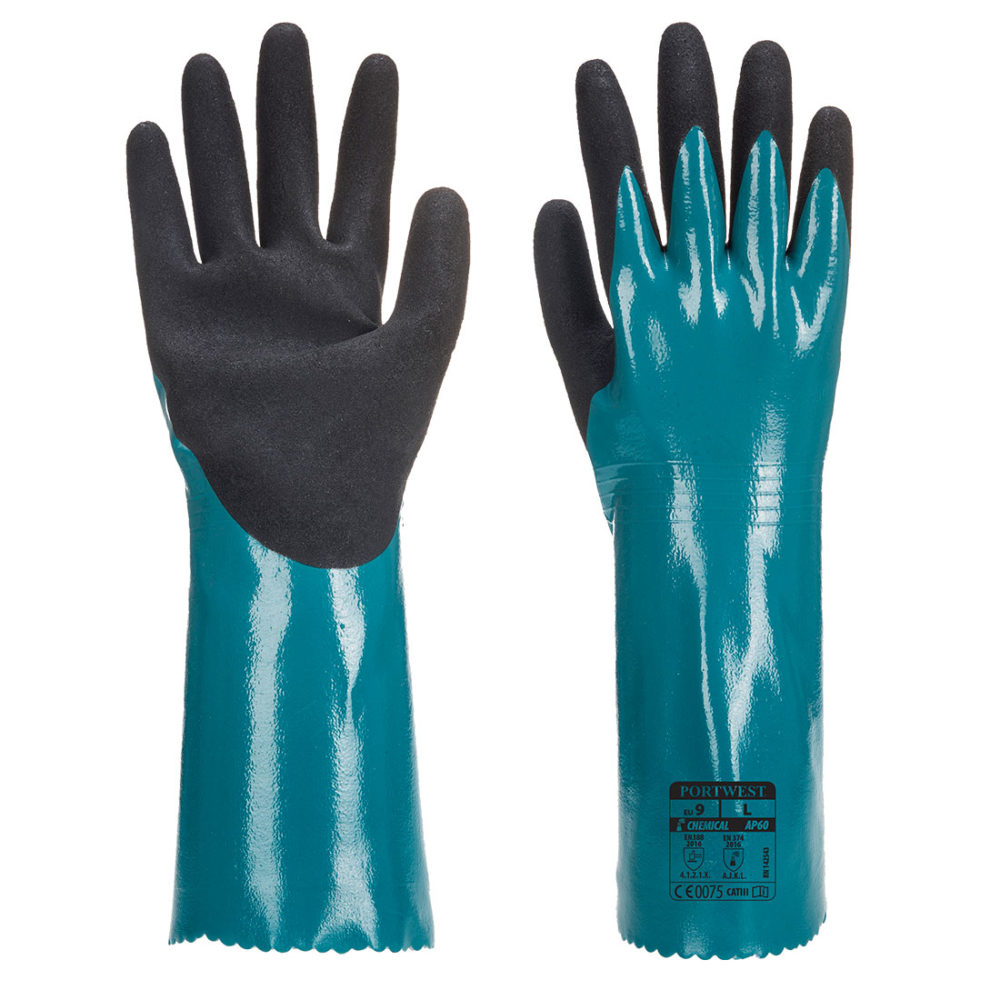 AP60 – Guante Sandy Grip Lite  Azul/Negro