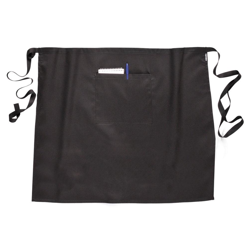 S795 – Delantal de cintura 120cm  Negro