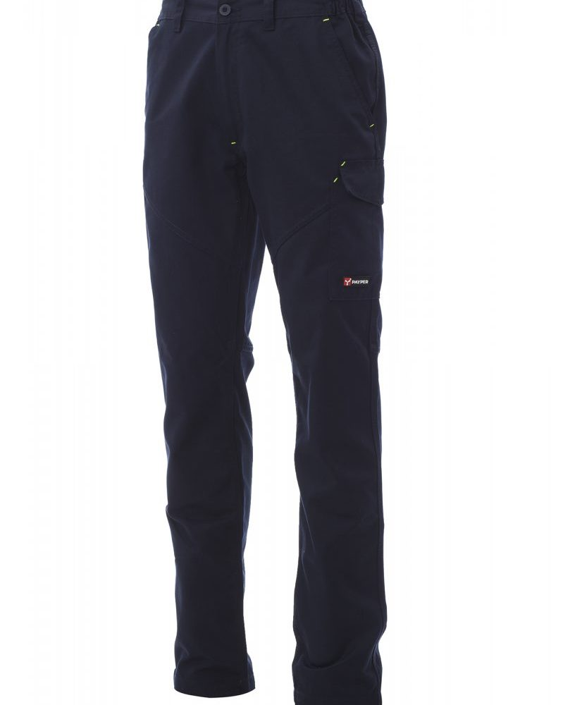 WORKER PRO. Pantalón multiestación, con elásticos laterales y trabillas en la cintura