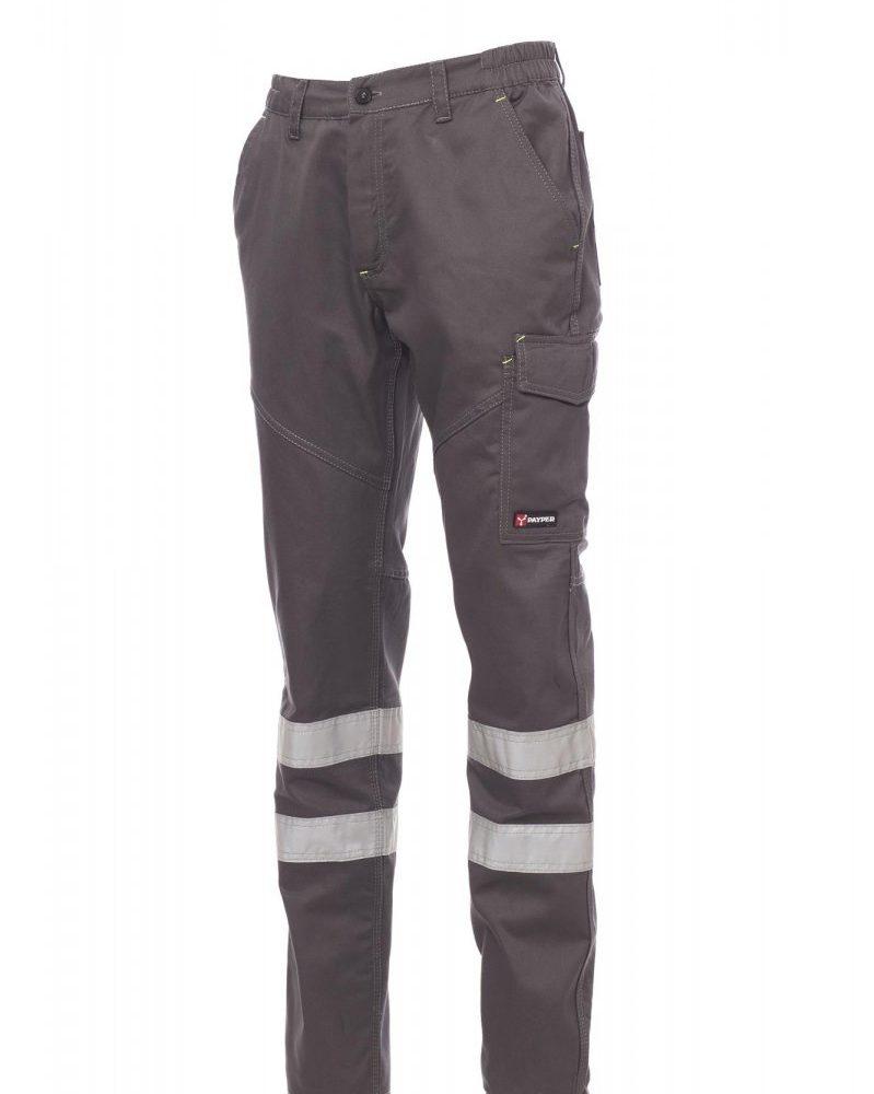 WORKER REFLEX. Pantalón multiestación, con bandas reflectantes en cat. 1