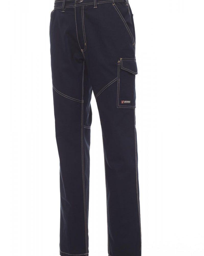 WORKER SUMMER. Pantalón  para verano, con elásticos laterales y trabillas en la cintura