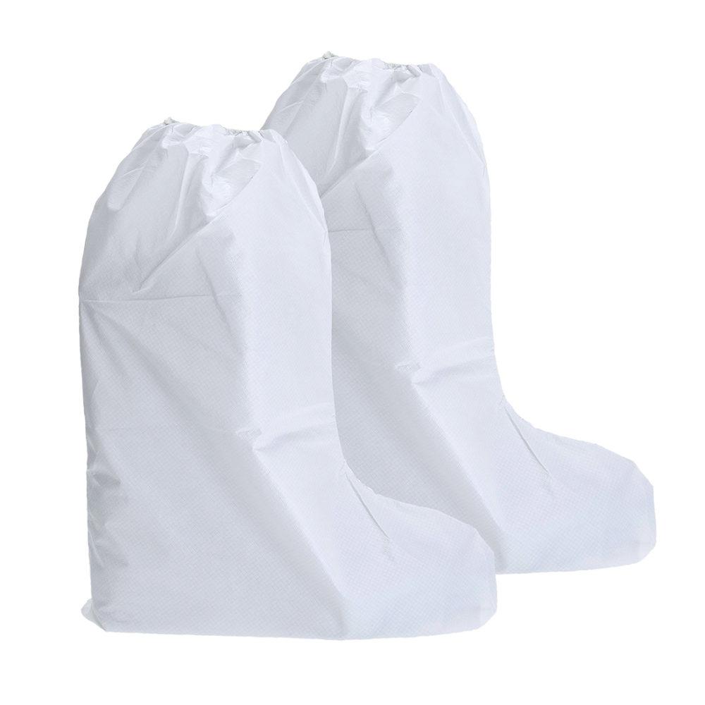 ST45 – Cubre-botas BizTex Microporous, tipo PB[6]  Blanco. cajas de  200  unidades