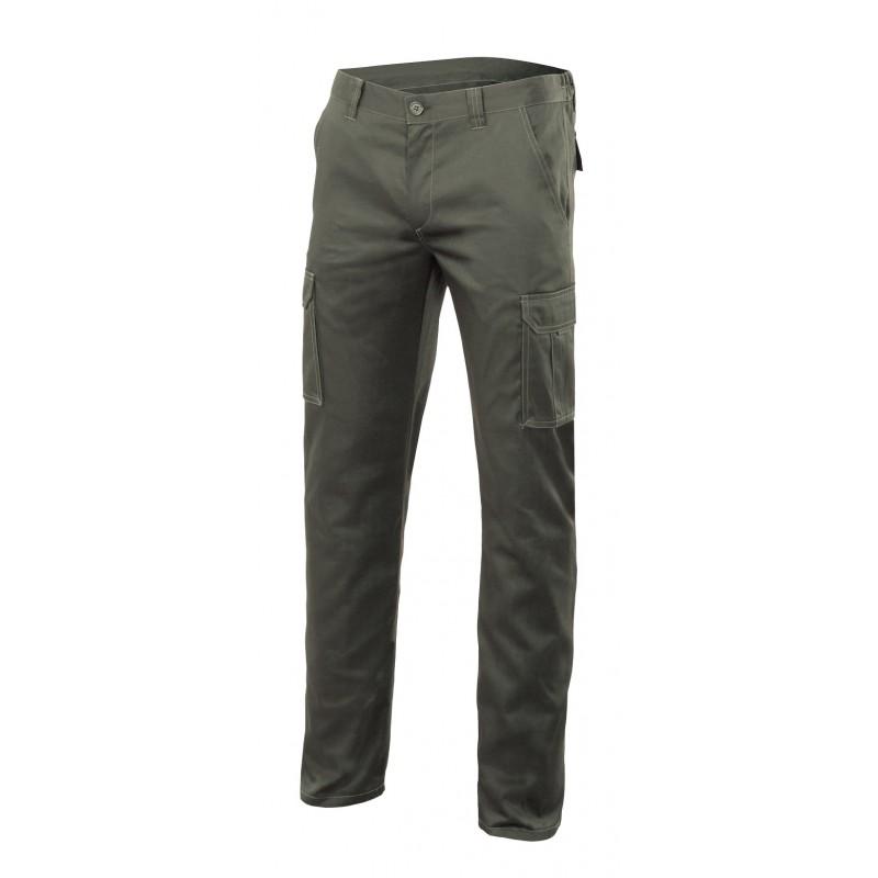 VF103005S Pantalon stretch multibolsillos forrado