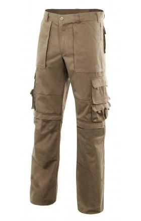 VMERCURIO Pantalón multibolsillos con refuerzo de tejido