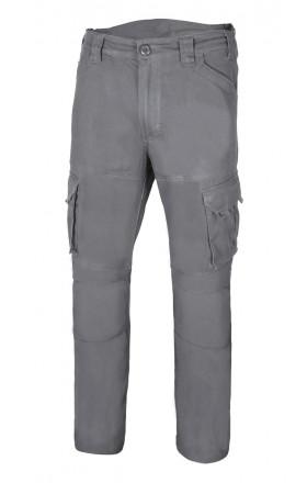 V103012S Pantalón algodón stretch multibolsillos