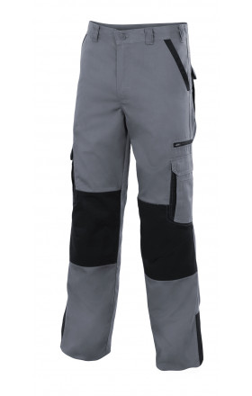VPLOMO Pantalón bicolor multibolsillos