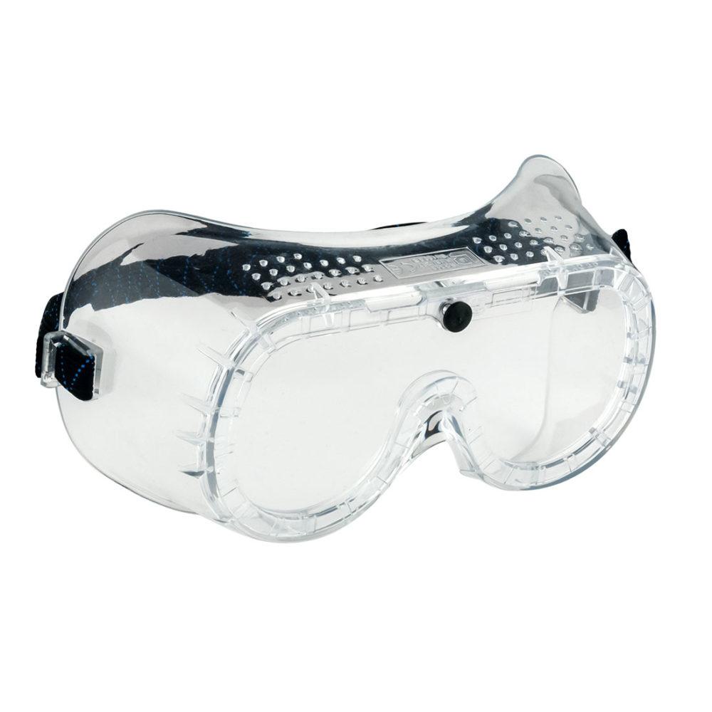 PW20 – Gafas con ventilación directa  Incoloro