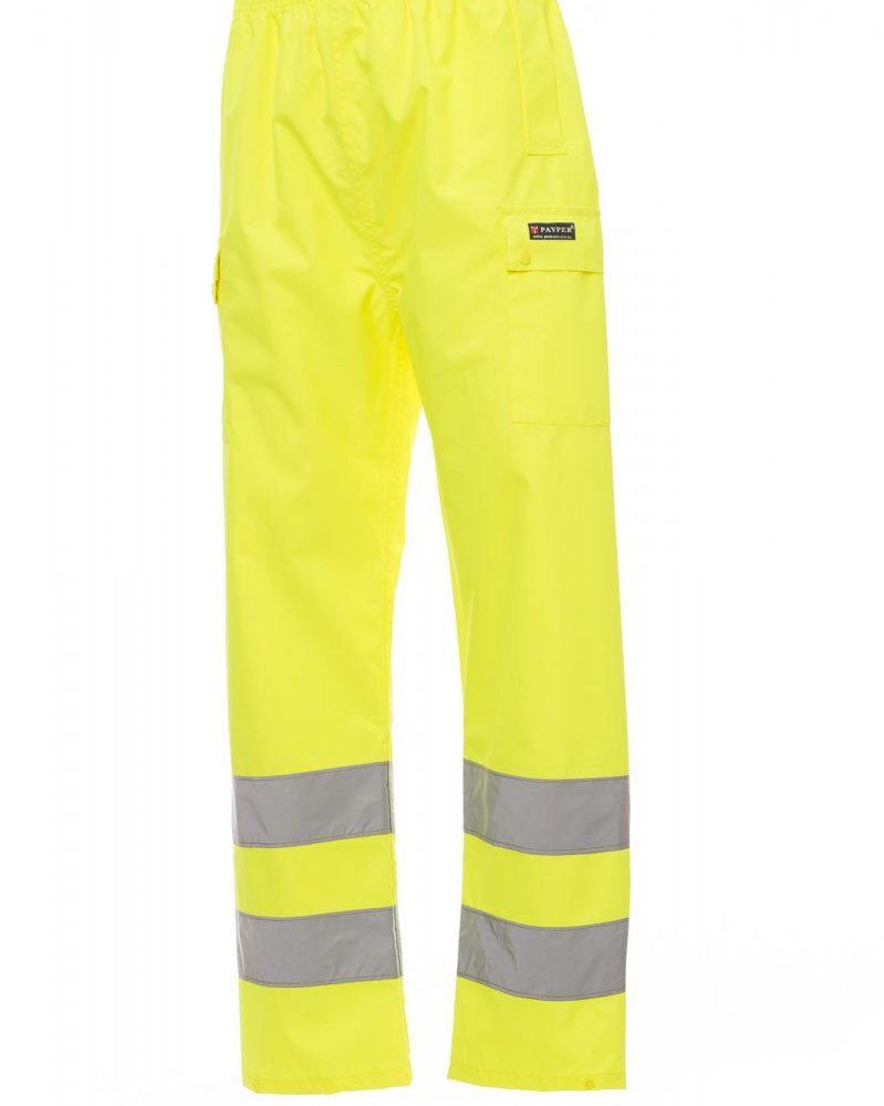 HURRICANE-PANTS.  Pantalón de alta visibilidad para lluvia con bandas 3M