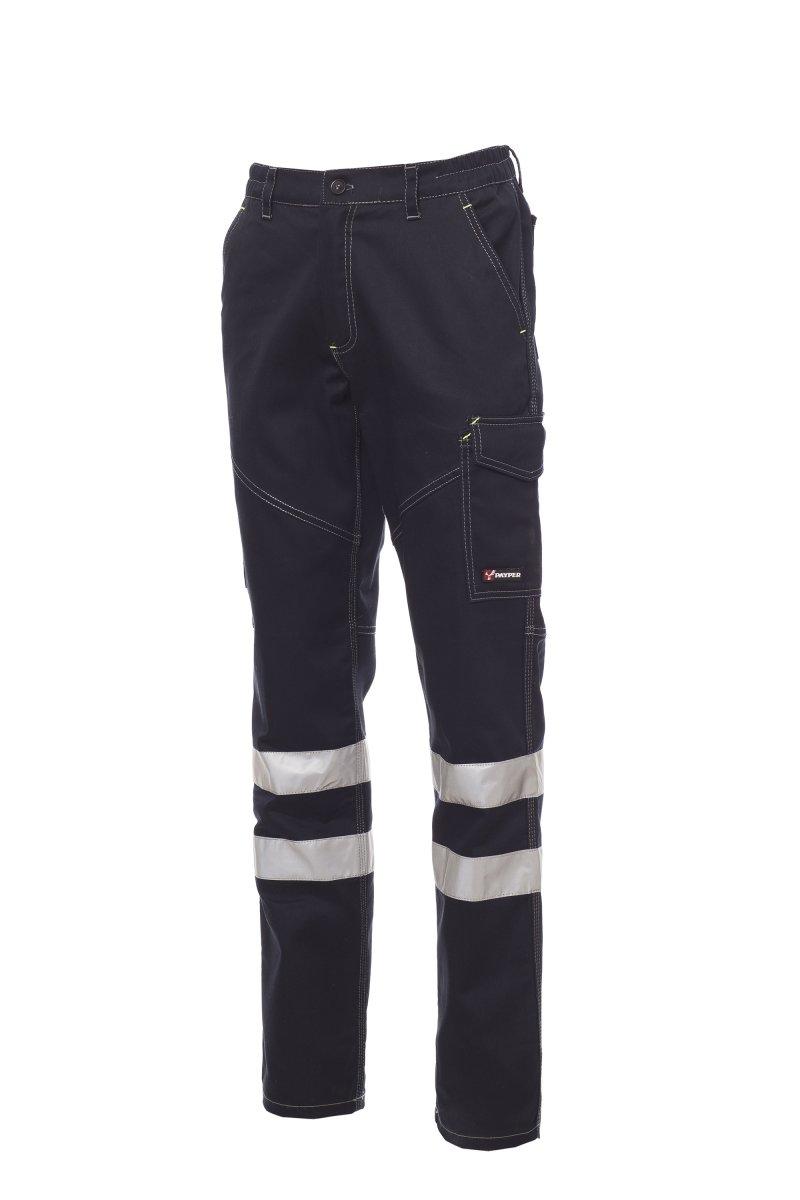 WORKER WINTER REFLEX. Pantalón de invierno, con bandas reflectantes en cat. 1