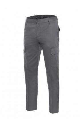 V103013 Pantalón 100% algodón multibolsillos