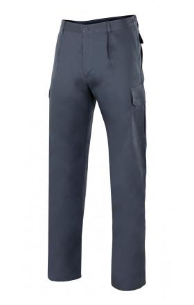 V343 Pantalón 100% algodón multibolsillos