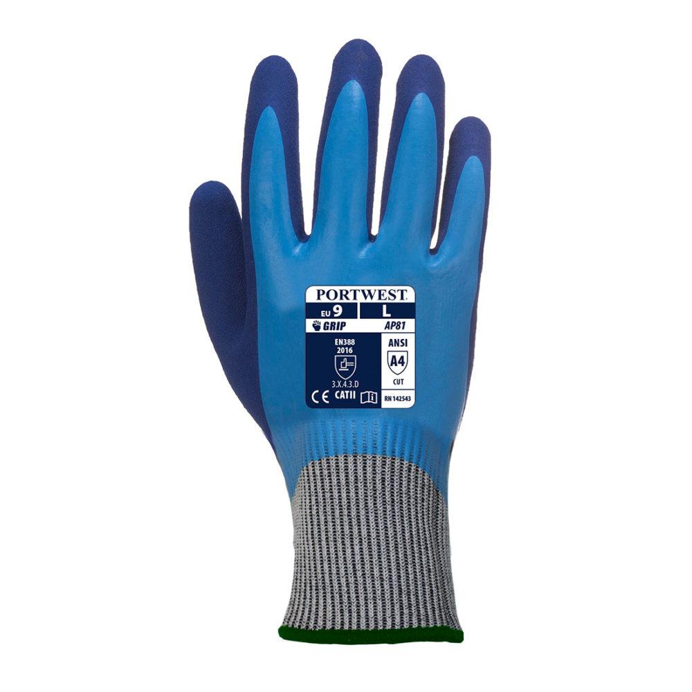 AP81 – Guante anti-corte Liquid Pro HR  Azul