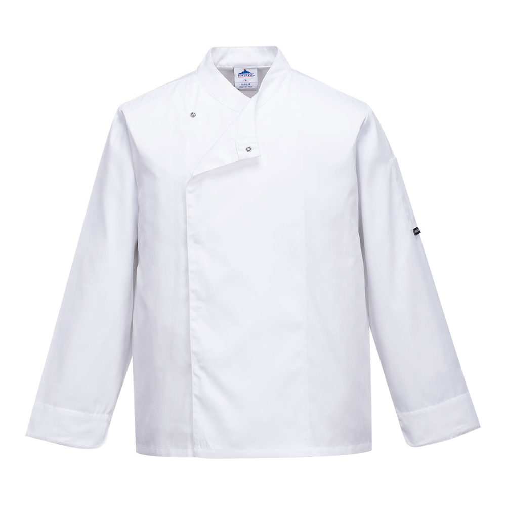 C730 – Chaqueta de cocina Cross-Over