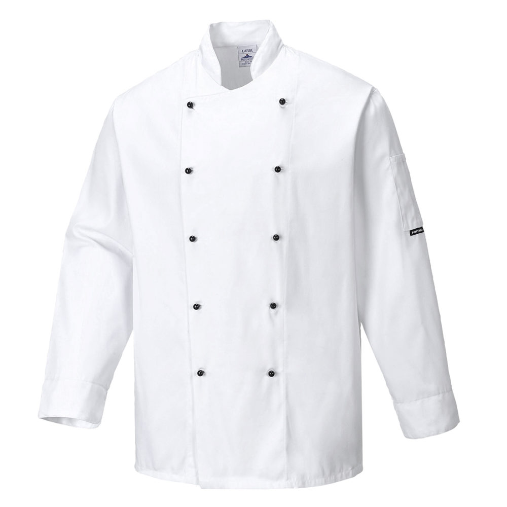 C834 – Chaqueta de chef Somerset