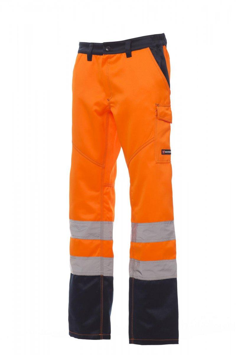 CHARTER/WINTER. Pantalón de alta visibilidad y dos tonalidades para invierno con bandas reflectantes