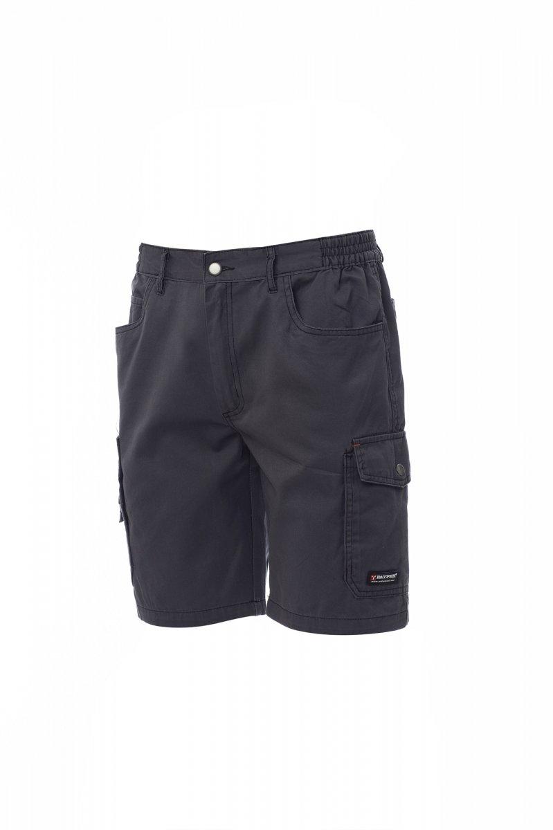 SANDIEGO.  Bermudas con lateral elástico y trabillas en la cintura. Cierre con cremallera
