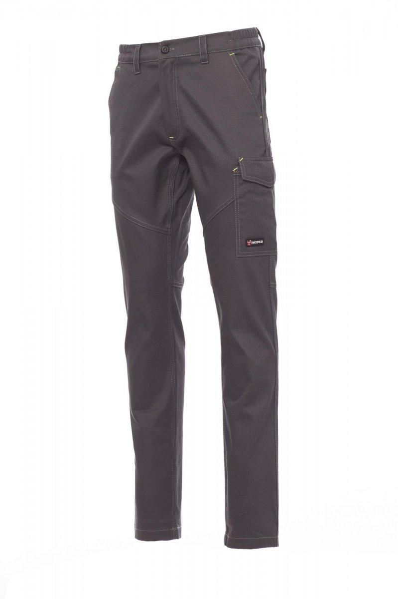 WORKER. Pantalón para todo el año con lateral elástico y trabillas en la cintura