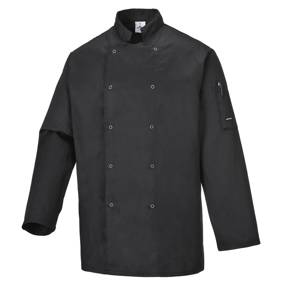 C833 – Chaqueta de chef Suffolk