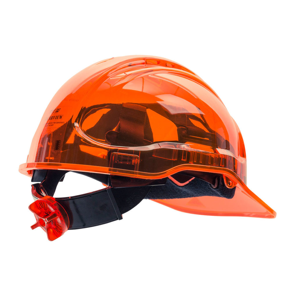 PV60 – Casco Peak View ventilado, con ruleta