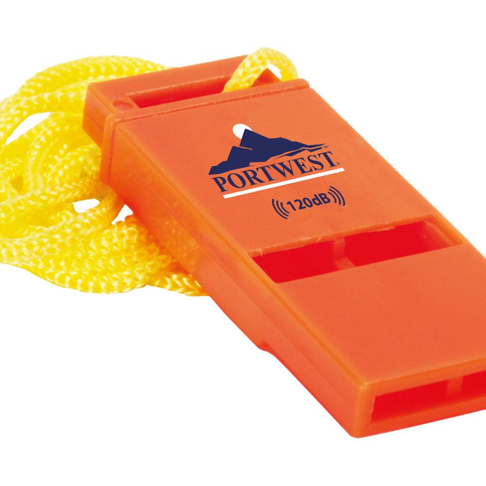 PA99 – Silbato de seguridad Slimline 120dB  Naranja. cajas de  20  unidades
