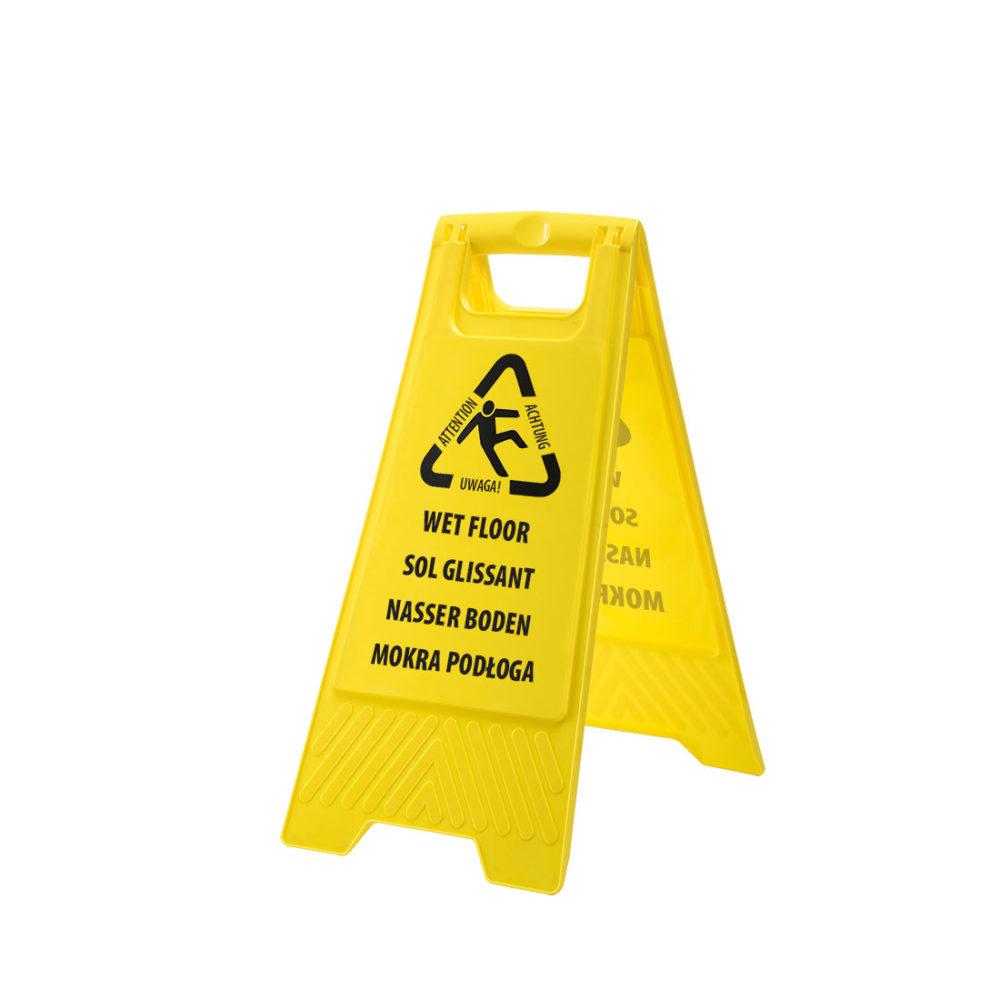 HV22 – Señal de aviso de tareas de limpieza  Amarillo