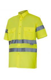 1 119 - V141 Camisa manga corta alta visibilidad