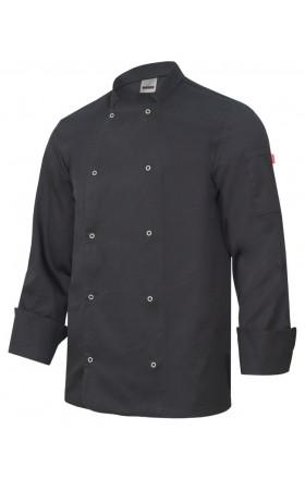 V405206 Chaqueta de cocina con automaticos manga larga