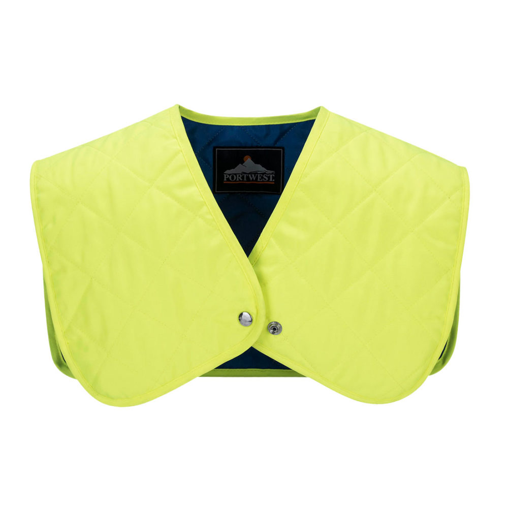 CV10 – Inserción refrescante para los hombros  Amarillo/Azul