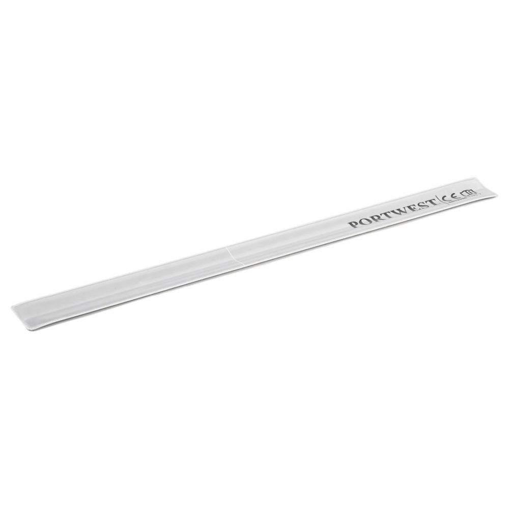 HV03 – Banda reflectante Slap Wrap 38 x 3 cm  Plata. cajas de  50  unidades